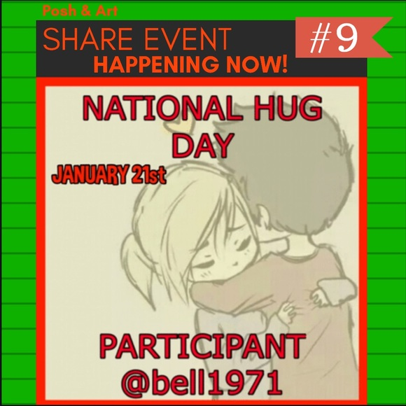 Other - National Hug Day Share Event January 21st
